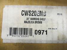 Monessen Majestic Cws20Emb Warming Shelf - Majolica Brown