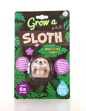 Grow A Sloth Novelty Childrens Gift Brand New Novelty Gift Toy Just Add Water