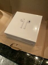 New Sealed Apple AirPods Earbuds Headphones w charging case A2032 ***in box***