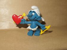 Figurine Schtroumpf de Peyo par Schleich - (Smurf Pitufo Schlumpfe) 1981 - RARE