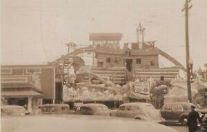 Old Orchard Beach ME Amusement Park Noah's Ark Coal Mine Vintage Photo