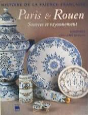 BOOK/LIVRE : FAIENCE/CERAMIQUES  PARIS & ROUEN