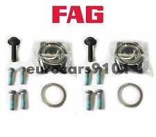 FAG (2) Front & Rear Wheel Bearing Kits 4E0598625 7136109100
