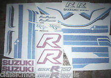 Suzuki GSXR-750F Pintura Restauración DECAL set