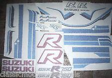 SUZUKI GSXR-750F PAINTWORK RESTORATION DECAL SET
