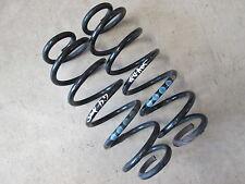 Fahrwerksfedern Federn hinten Audi A3 8L Golf 4 Fahrwerk 4x blau 1x silber