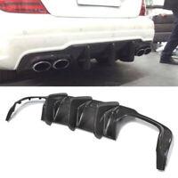 Mercedes Benz W204 C250 C300 C350 C63 AMG Carbon Fiber Rear Diffuser