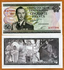 Luxembourg 50 Francs, 1972, P-55a, UNC