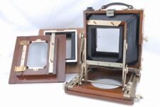 Nagaoka Seisakusho 4x5 Field Camera Woody Wood w/Backs *N121903