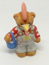 Vintage Lucy & Me Bear-Enesco-1989 Rooster - S250