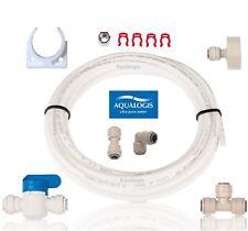 Juego de conexión de agua AL-023 Para Refrigerador, hielo, filtros de ósmosis inversa