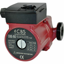CBS 60 Central Heating Circulator Pumps