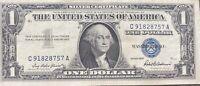 USA 1 Dollar 1957 Silver Certificate One Banknote Schein Gute Erhaltung #21950