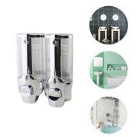 Soap Dispenser Bathroom Wall Mount Shower Shampoo Hand Liquid Container Holder