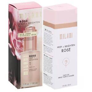 Milani Perp + Brighten Rose Face Oil 1 fl oz