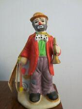 1984 Emmett Kelley Jr. Flambro Clown Figurine