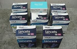 STERILE 30 GUAGE TRUE PLUS LANCETS 700 + 100 Pcs.