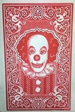 1990 Stephen King's IT Pennywise the Clown playing card replica magnet - new!