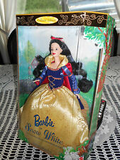 BARBIE AS SNOW WHITE  (1998) COLLECTOR EDITION 3 YRS AND UP