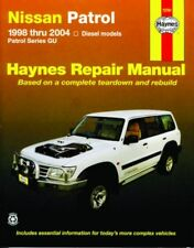 HAYNES REPAIR WORKSHOP MANUAL: NISSAN PATROL GU DIESEL