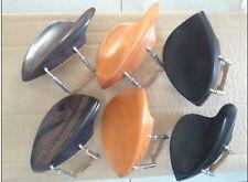 6 pcs violin chin rest Stuber and TEKA with bracket 4/4 Ebony rosewood boxwood