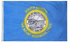 NEW SOUTH DAKOTA STATE FLAG OUTDOOR FLAG 100% NYLON NYL-GLO 4X6 ANNIN