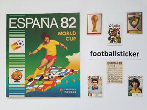WM 1982, 10 Sticker stickers Panini World Cup 82 Spain Spanien football
