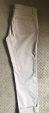 Women's J Jill Straight Fit Slim Boyfriend Jeans Size 4 Cotton/Spandex Carmel