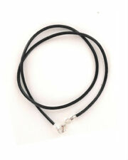 """2mm Genuine Leather Necklace Cord 14-28 """""""