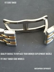 REPLACEMENT DEPLOYMENT BUCKLE CLASP  FOR RAYMOND WEIL TANGO 5560