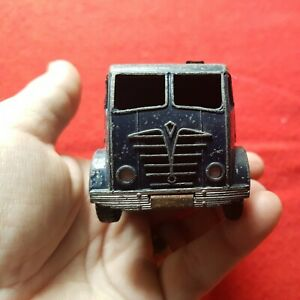 RED Foden Dinky supertoys Meccano oil tanker carrier toy metal diecast