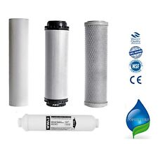 5 Stage Reverse Osmosis Pre Filters + Polishing Taste & Odour Replacement 4PCS