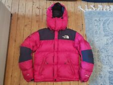 The North Face Baltoro Serie Summit Rosa abajo Puffer Chaqueta Talla 85 (XS)