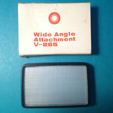 VIVITAR WIDE ANGLE DIFFUSER FLASH ATTACHMENT V-265 FILTER THURISTER NEW