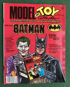 Model and Toy Collector #12 1989 Special BATMAN 50th Ann. Issue Jocker DC Comics