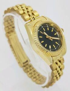 Ladies Asos Gold Tone Bracelet Watch **New Battery**