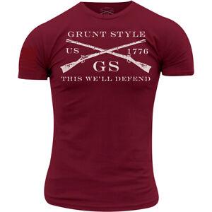 Grunt Style Logo Basic T-Shirt - Cardinal