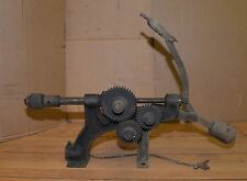Rare Acme blacksmith post drill collectible antique forge tool drilling machine