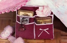 Handy Bed Caddy/Decor/Crochet Pattern Instructions Only