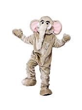 Adult One Size Elephant Wildlife Animal Full Body Mascot Fancy Dress Costume BN