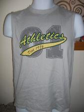 Cherokee - Grey Athletics Logo T-Shirt Size X Small
