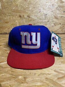 Vintage 90s / NWT / Starter New York NY Giants Cap / NFL Wool Adjustable Hat
