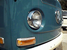 VW TYPE 2 BUS 1968-1972 BAY WINDOW FRONT TURN SIGNAL LENS WITH HARDWARE