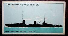 Kaiserliche Marine   Battle-Cruiser  SEYDLITZ   World War 1   Vintage Card