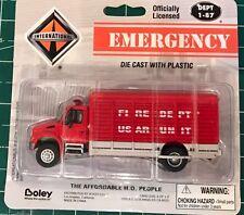 BOLEY HO SCALE 1:87 INTERNATIONAL EMERGENCY FIRE DEPARTMENT TRUCK 4136 -11, NEW!