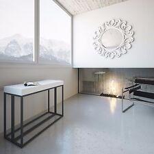 Tavolo consolle allungabile Bianco Frassino Epoca soggiorno cucina stile moderno