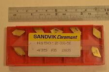 10 NEW SANDVIK Solid Carbide Inserts N150:2-300-5E 435 P35 19835  WL14.4.11R