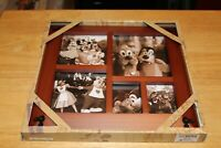 Disney Parks Mickey Icon Cherry Multi Square Picture Photo Frame New