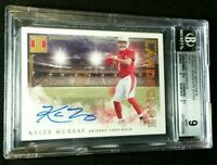 BGS 9/10 KYLER MURRAY RC AUTO /5 *POP 2 ROOKIE *UPSIDE DOWN SLAB 2019 Impeccable