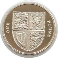 2015 Royal Shield of Arms £1 One Pound Proof Coin Fifth Portrait